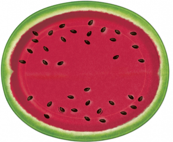Summer Watermelon Serving Plate